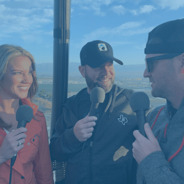 Episode 101: First Ever Podcast from A Hot Air Balloon